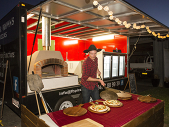 Mobile Pizza Truck Service