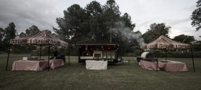 Picture of our Pizza Catering Trailers